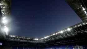 RCDE Stadium, vacío antes del partido Espanyol - Real Madrid