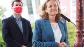 La vicepresidenta del Gobierno y ministra de Asuntos Económicos y Transformación Digital, Nadia Calviñ. Efe.