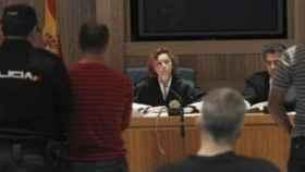 La magistrada Carmen Paloma González, en un juicio en la Audiencia Nacional./