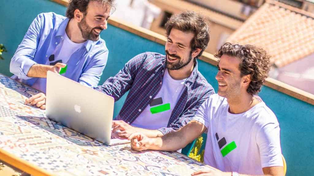 Joaquín, Quique y Álvaro, fundadores de TaxDown.