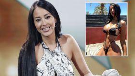 Aurah Ruiz junto a la última fotografía de sus redes sociales en montaje de JALEOS.