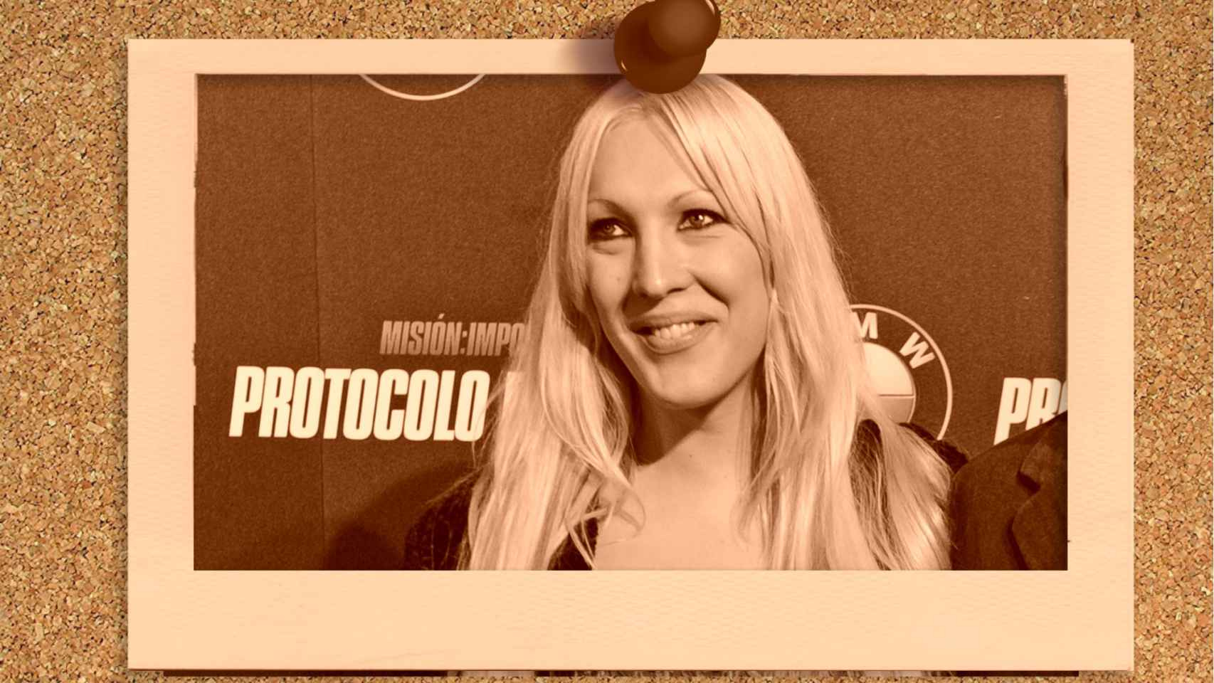 Christina Rapado en montaje de JALEOS.
