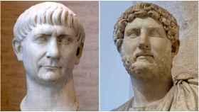 Trajano y Adriano.