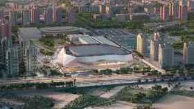 Imagen del Casal España Arena, la nueva casa del Valencia Basket