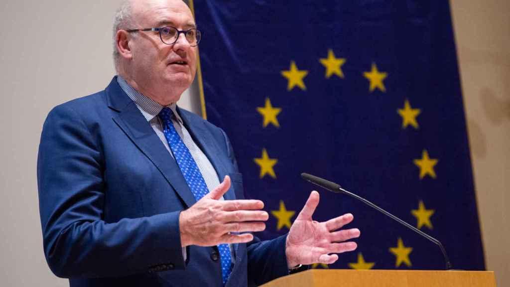 El comisario de Comercio, el irlandés Phil Hogan.