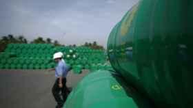 Almacén de productos de la petrolera BP en Vietnam.