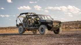 El nuevo vehículo de General Motors para el ejército estadounidense.