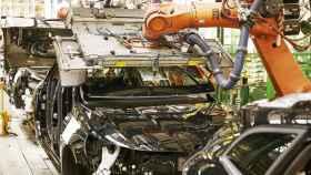 Imagen de una de las plantas de producción de vehículos instalada en España.