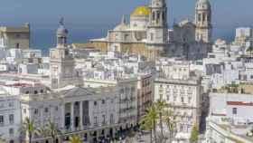 Vista general de la ciudad de Cádiz