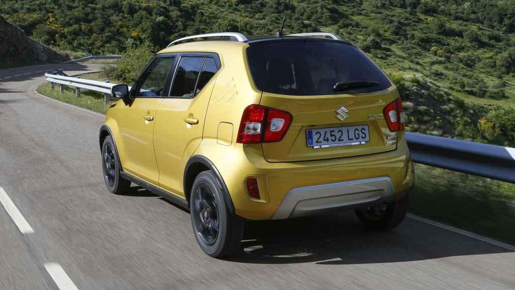 El nuevo Suzuki Ignis es un coche pequeño con aptitudes de SUV.
