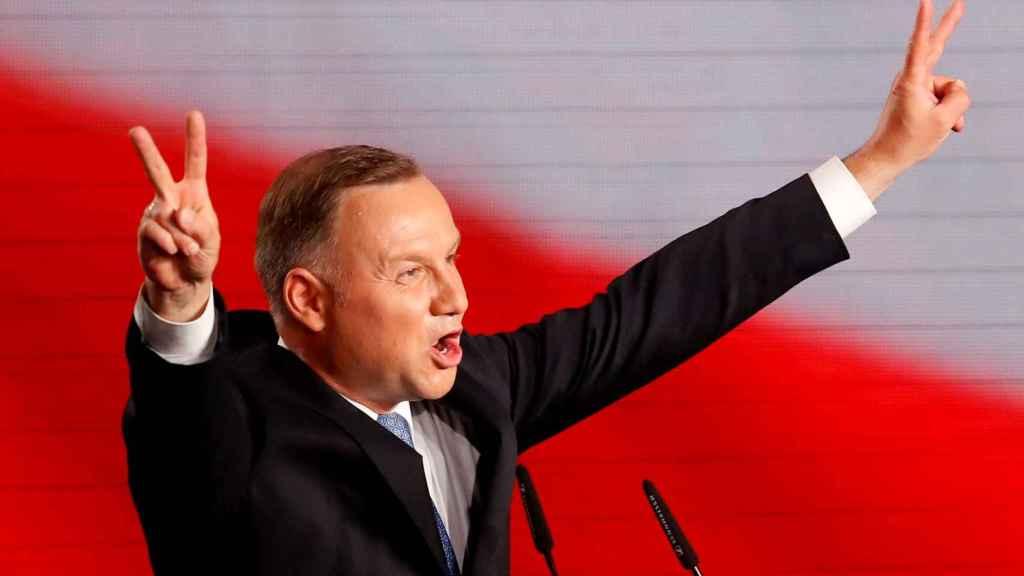 Andrzey Duda, presidente de Polonia.