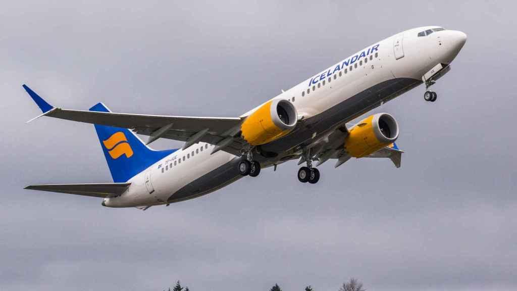 Boeing 737 MAX de Icelandair