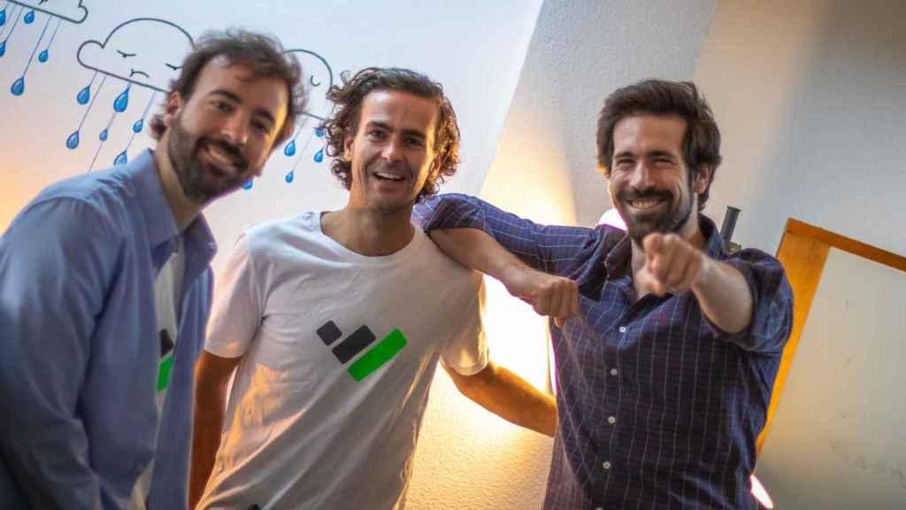 Álvaro, Joaquín y Quique, fundadores de TaxDown.