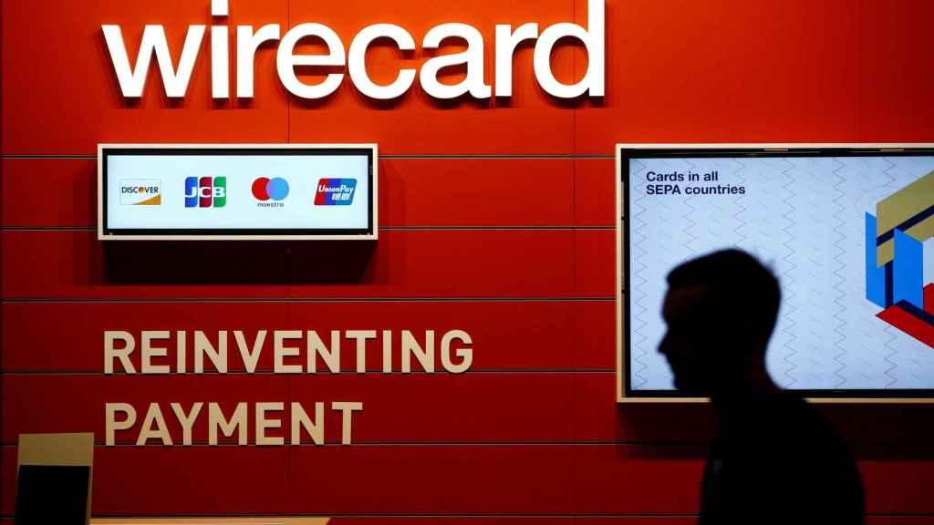 Un emplazamiento publicitario de la fintech alemana Wirecard.