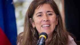 La embajadora de la Unión Europea, Isabel Brilhante. Efe.