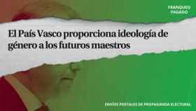 Contenido de los sobres electorales de Vox en el País Vasco retenidos por Correos.