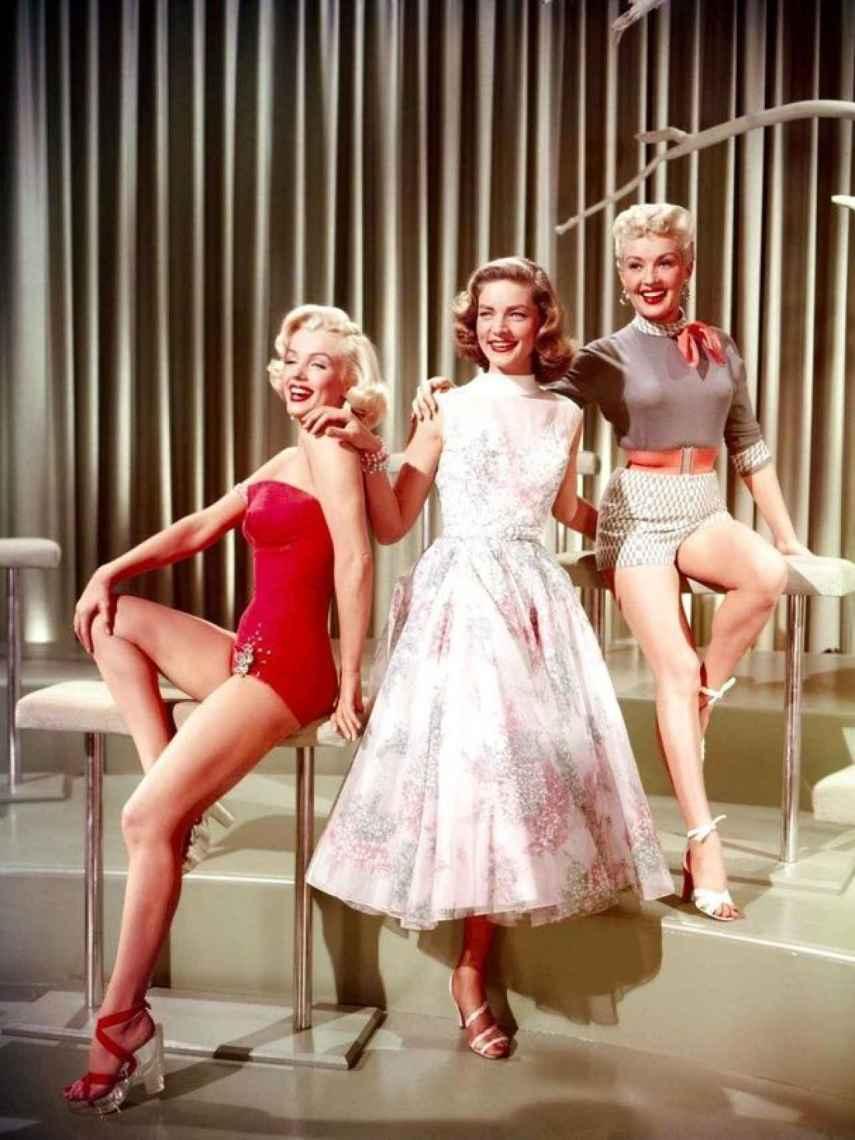 Marilyn Monroe en 'Cómo casarse con un millonario'.