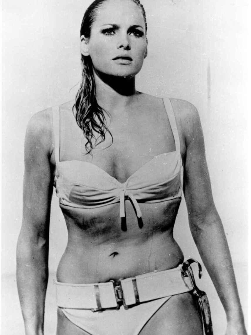 Ursula Andress en 'Agente 007 contra el Dr. No'.
