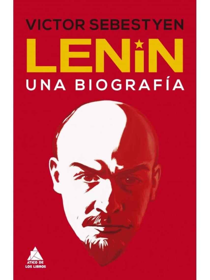 Portada de 'Lenin. Una biografía'.