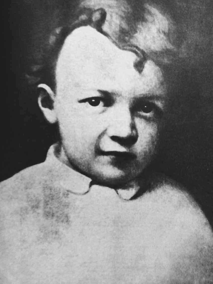 Retrato de Lenin de niño.