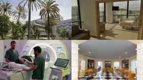 Los 25 hospitales privados de España.