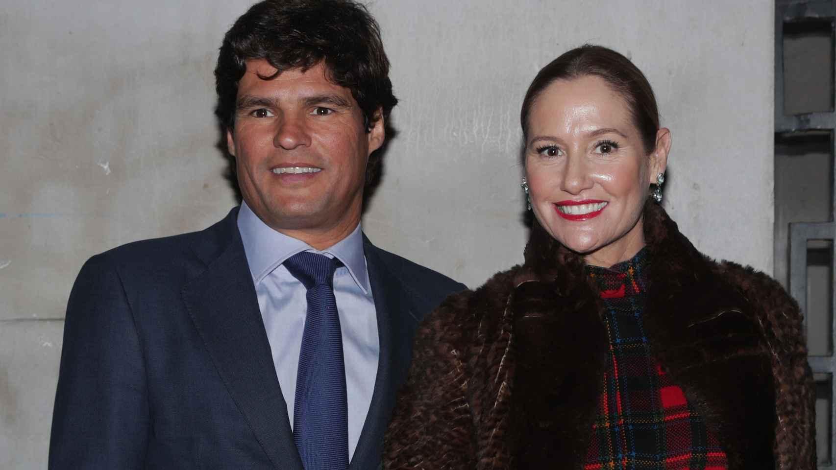 Fiona Ferrer y Javier Fal-Conde en una imagen tomada en noviembre de 2019.