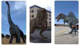 Dinosaurios en 3D en tu casa: la realidad aumentada de Google lo hace posible