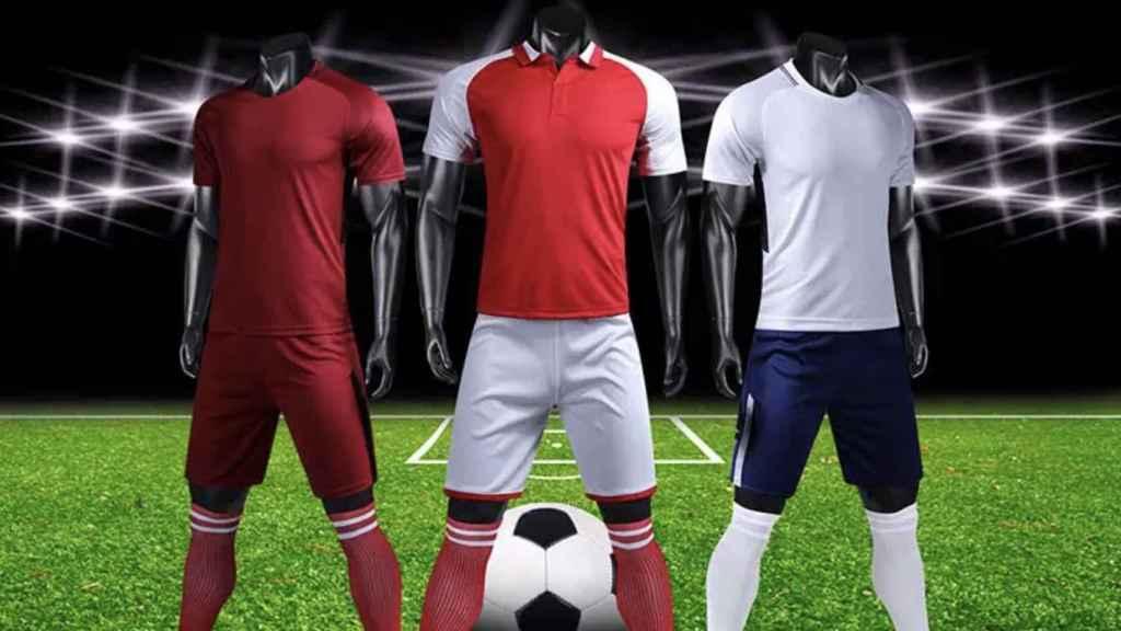 Camisetas de fútbol réplicas