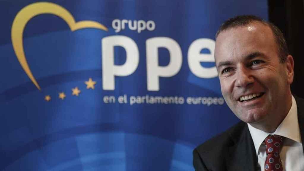 El presidente del Partido Popular Europeo, Manfred Weber.