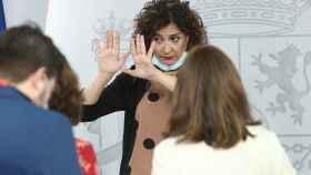 María Jesús Montero, en la rueda de prensa posterior al último Consejo de Ministros.