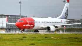 Uno de los aviones de Norwegian.