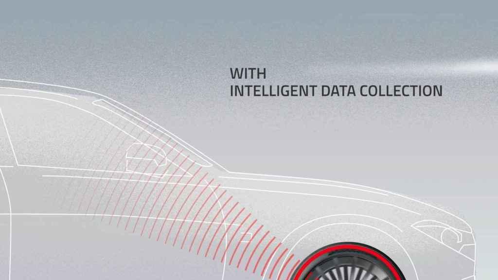El sistema de neumático inteligente de Bridgestone y Microsoft