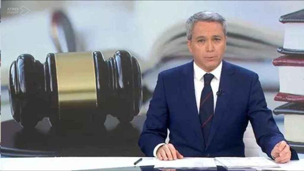 Una captura de pantalla del vídeo de Vicente Vallés que se ha hecho viral.