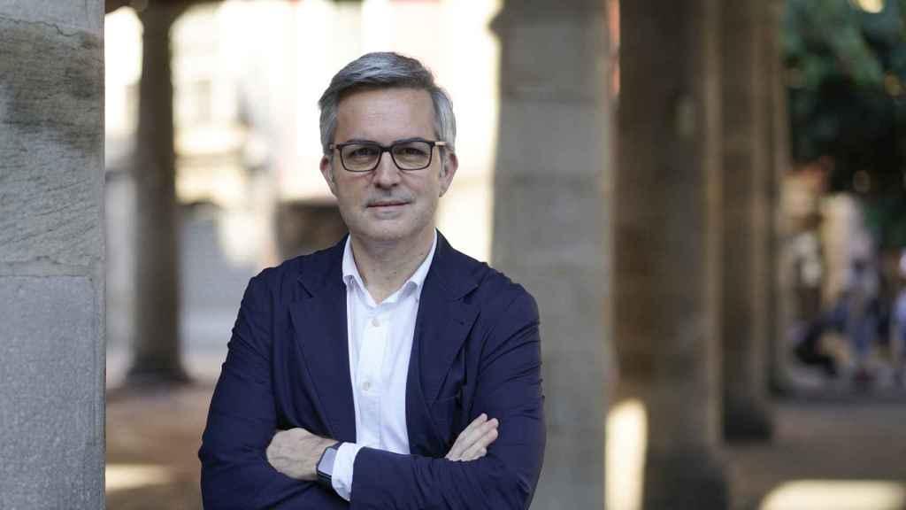 Víctor Font, el líder de la candidatura 'Sí al Futur' a la presidencia del Barça