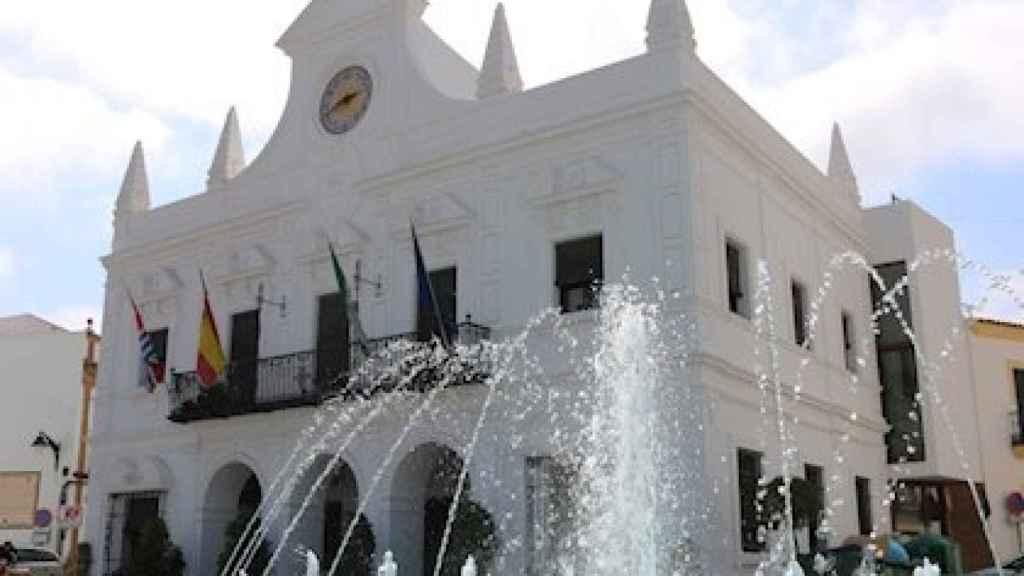 Fachada del Ayuntamiento de Cartaya (Huelva).