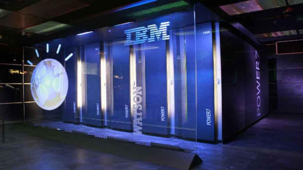 Imagen del programa Watson de IBM.