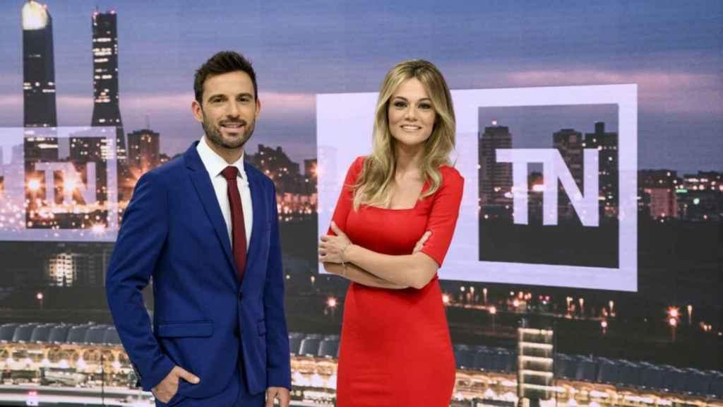 Manu Pérez y Rocío Delgado (Telemadrid)