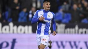 Óscar Rodríguez, durante un partido del Leganés. Foto: cdleganes.com