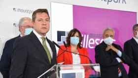 El presidente de C-LM, Emiliano García-Page, este miércoles en Illescas