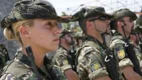 Militares del Ejército de Tierra./