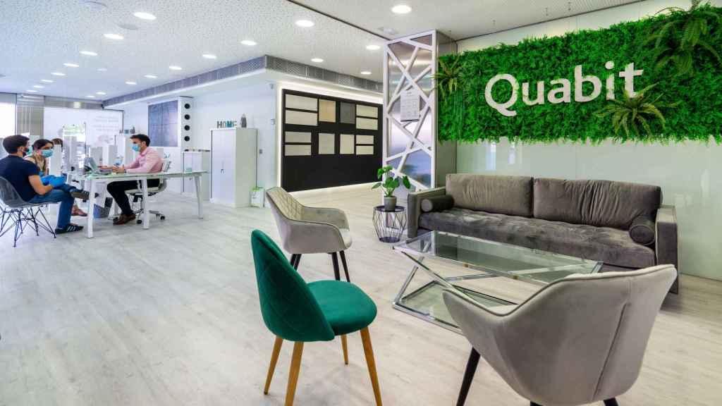 Una oficina comercial de Quabit en Guadalajara.