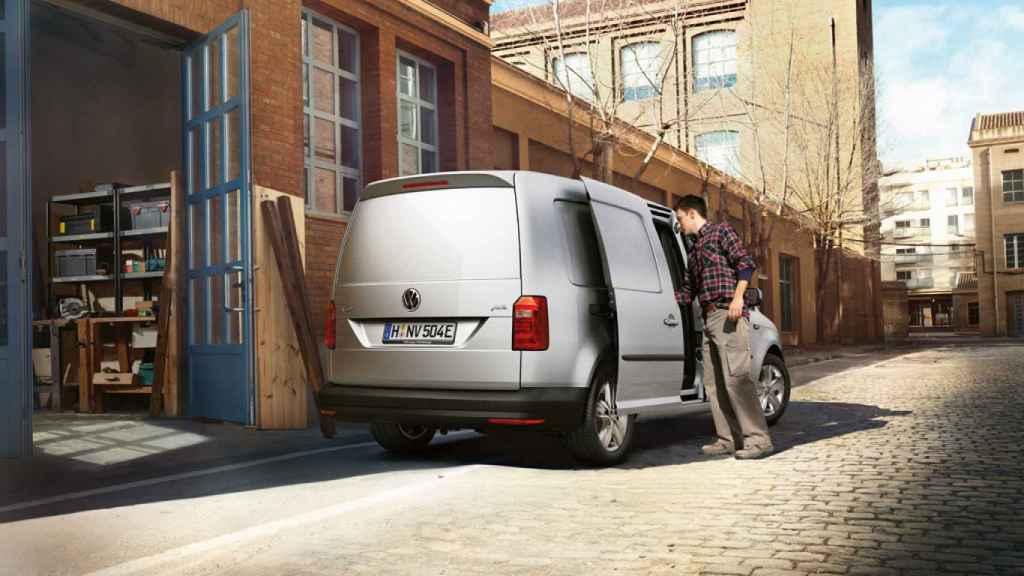 Nueva Volkswagen e-Caddy.