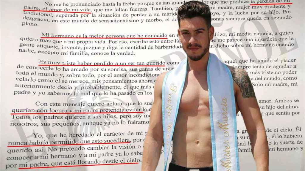 Carta escrita por la hija del fallecido a la que ha tenido acceso El Español