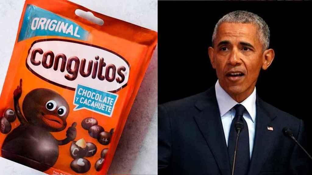 Obama sigue la cuenta de Conguitos en Twitter.