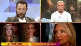 Gloria Mohedano entra en directo en 'Sálvame'.