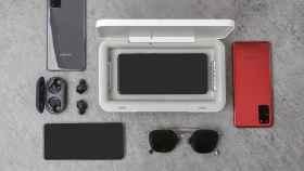 Caja esterilizadora UV de Samsung.