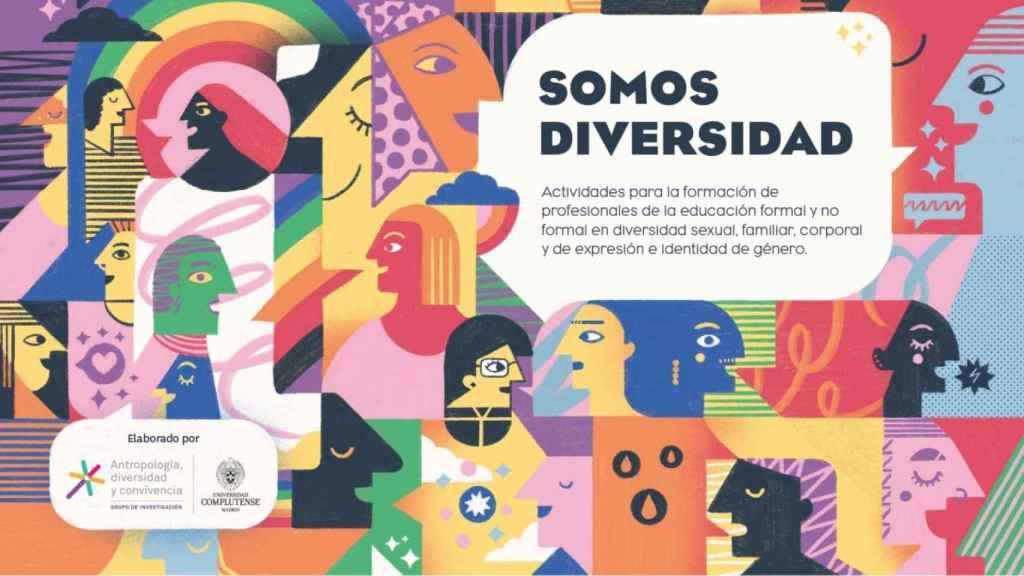 Portada de la guía del Ministerio de Igualdad, Somos diversidad, publicada este jueves.