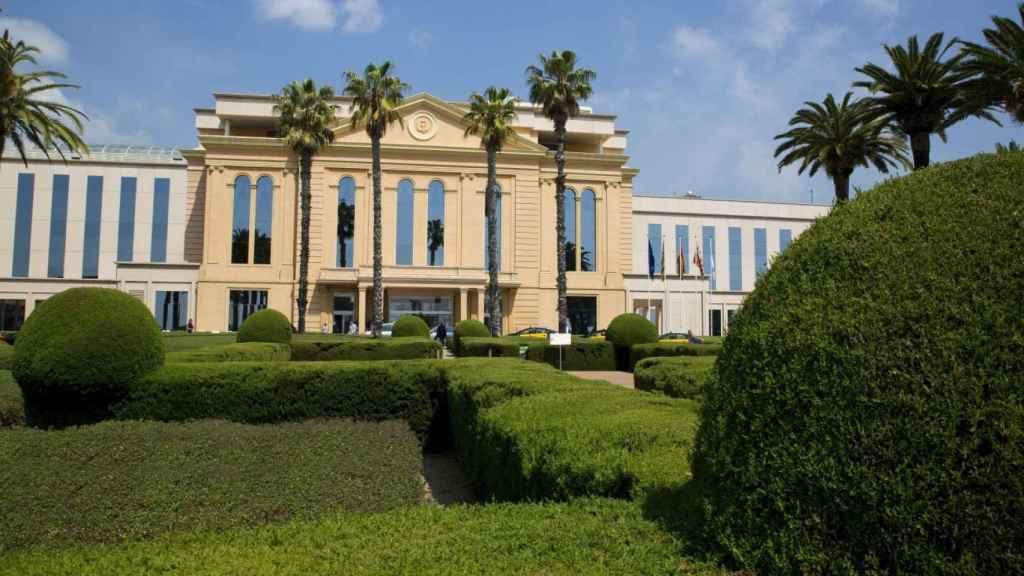 Fachada del Hospital Teknon, en Barcelona.