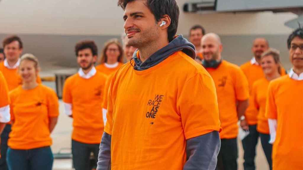 Carlos Sainz, al frente de la delegación de McLaren en el GP de Austria
