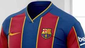 Casemiseta del Barcelona para la temporada 2020/2021